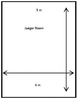Jaeger Room Floor Plan